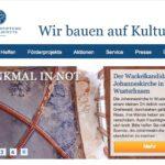Schloss Schackau: 100.000 Euro von der Stiftung Denkmalschutz