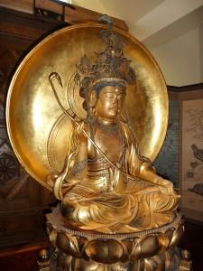 Bhuddastatue, die ein Siebold-Sohn aus Japan mitgebracht hat / Foto: Wikipedia / Immanuel Giel / CC-BY-SA 3.0