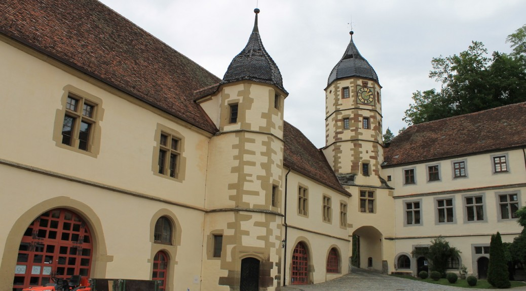 Schloss Haigerloch: Eine freundliche Renaissance-Residenz... Foto: Burgerbe.de