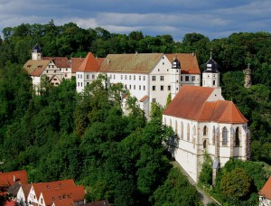 Schloss Haigerloch und die Schlosskirche / Foto:  Wikipedia / Felix König / CC-BY-SA 3.0