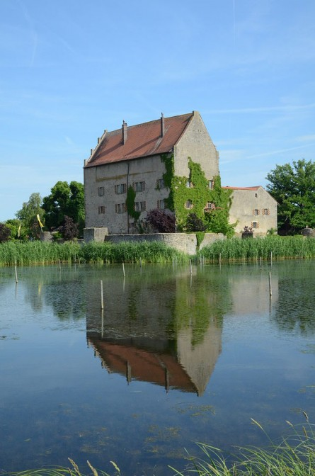 Schloss Sommersdorf: Wo Mumifizierung besonders gut klappt / Foto: Wikipedia / Tilman2007 / CC-BY-SA 3.0
