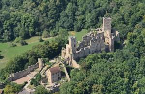 Thomas Zotz referiert über Burg Rötteln / Foto: Wikipedia / Taxiarchos228 / CC BY 3.0