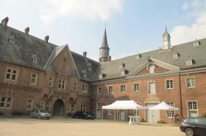 Innenhof von Schloss Wissen