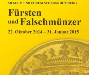 """Plakat der Ausstellung """"Fürsten und Falschmünzer"""" / Bild: Oberbergischer Kreis"""