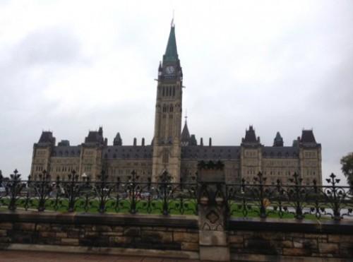 Das kanadische Parlament in Ottawa wurde Ziel eines Anschlags. Fotos: Burgerbe.de