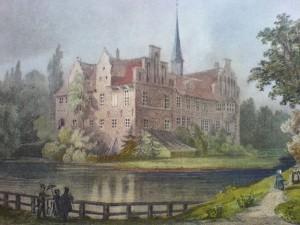 So sah das Bergedorfer Schloss um 1850 aus / Foto: Wikipedia / PodracerHH / CC-BY-SA 3.0