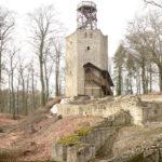 Burg Lichtenberg: Brand zerstört Aussichtsplattform