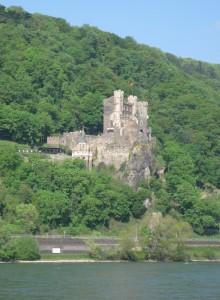 Burg und Rhein