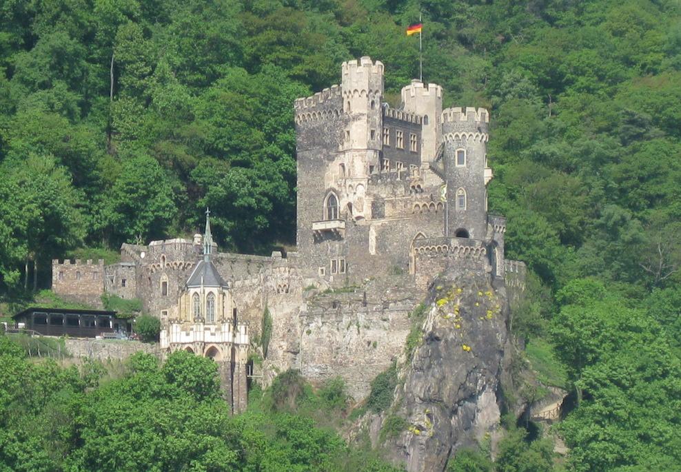 Burg Rheinstein: Ein romantisierender Wiederaufbau / Foto: Burgerbe.de