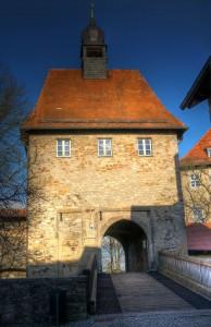 Zugang zur Burg Hohenberg / Foto: Wikipedia / Richard Huber / CC-BY-SA 3.0