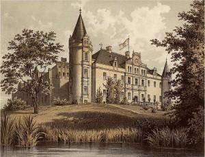 Schloss Burgkemnitz nach der Umgestaltung / Foto: Wikipedia / Sammlung Duncker