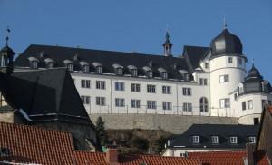 Schloss Stolberg: Die sanierte Fassade.