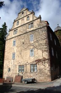 Burg Schlitz: Fassade der Hinterburg