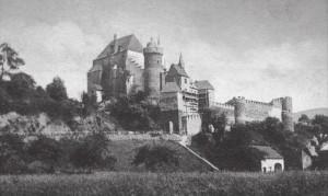 So sah Schloss Ham 1902 aus. (Urheberrecht abgelaufen)