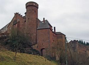 Schloss Hamm: Bergfried und Nordtor / Foto: Wikipedia / Gruesome Gary / CC-BY-SA 3.0
