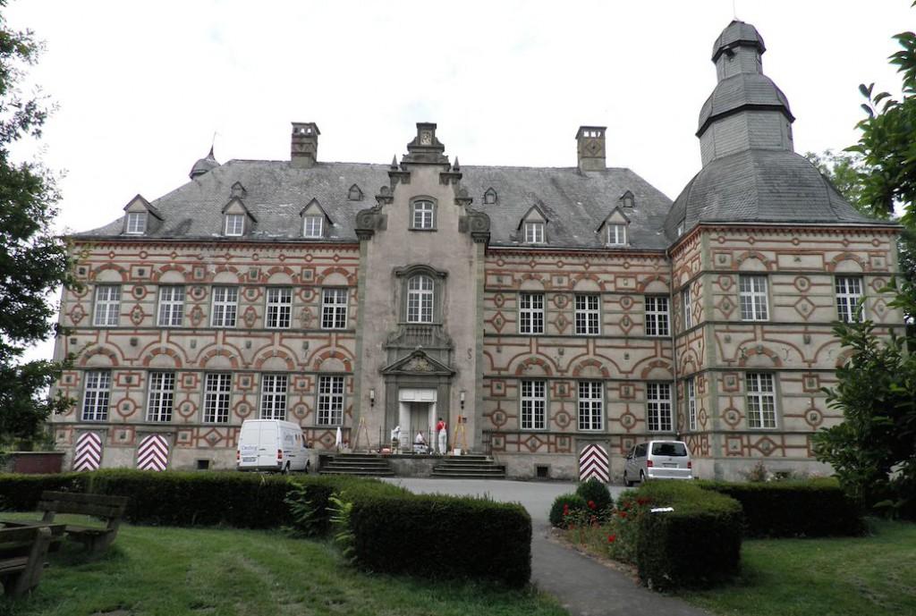 Die Sanierung von Schloss Overhagen geht ins Geld: Foto: Deutsche Stiftung Denkmalschutz