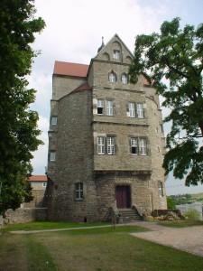 Der Witwenturm war zunächst als Batterieturm konzipiert und wurde nach 1515 zum Wohnturm umgebaut / gemeinfrei