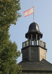Die restaurierte Turmhaube