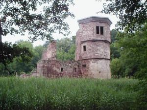 Der Nordostturm des Wasserschlosses heute / Foto: Wikipedia / Schmelzle (Peter Schmelzle) / CC-BY-SA 2.5