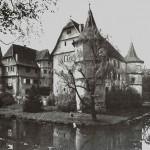 Wasserschloss Menzingen: Ruine seit April 1945