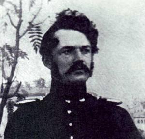 Der preußische Leutnant Werner Siemens, Daguerrotypie von 1842 / gemeinfrei