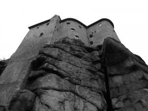 Burg Falkenberg auf ihrem Granitfelsen © Matthias Wagner/Deutsche Stiftung Denkmalschutz