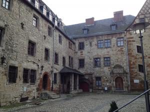 Der Innenhof von Schloss Beichlingen / Foto: Wikipedia / Peter Schmelzle / CC-BY-SA 3.0