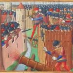 Belagerungs-Geschosse aus Pech und Schwefel nachgebaut