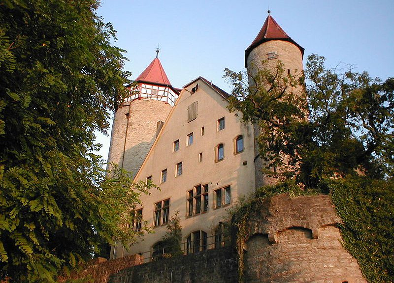 Burg Mockmühl bei Heilbronn / Foto: Wikipedia / p.schmelzle / CC-BY-SA 2.5