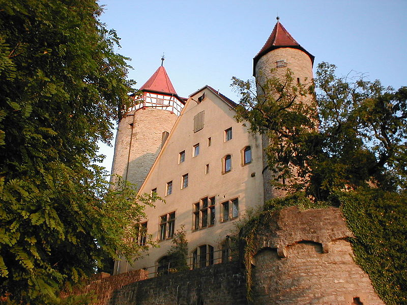 Burg Möckmühl bei Heilbronn / Foto: Wikipedia / p.schmelzle / CC-BY-SA 2.5