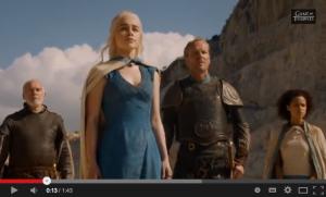 Daenerys Targaryen will mit Drachenhilfe auf den Eisernen Thron / Bild: Screenshot Youtube