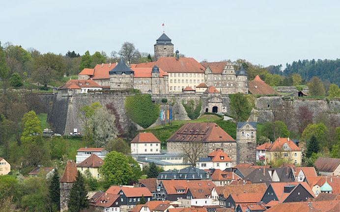 Festung Rosenberg über der Altstadt von Kronach / Foto: Wikipedia / Tors / CC-BY-SA 3.0