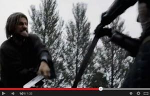 Die Hauptwaffe bei Game of Thrones ist das Schwert. Gekämpft wird eigentlich immer irgendwo / Bild: Screenshot Youtube