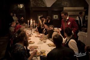 Abendessen im College of Wizardry / Foto:  John-Paul Bichard
