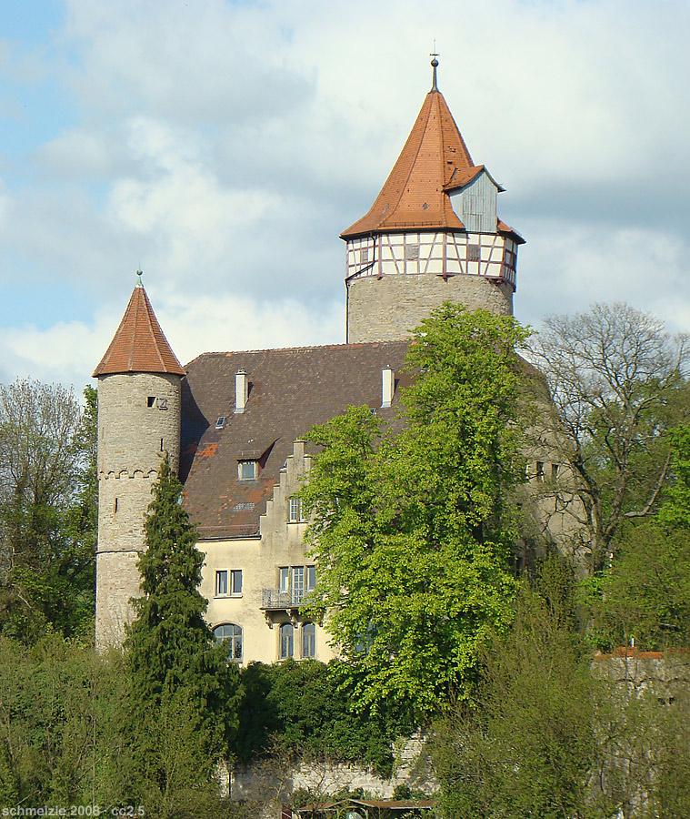 Burg Mockmühl / Foto: Wikipedia / p.schmelzle / GFDL
