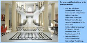 """Exquisite Materialien: Aus dem """"Factsheet"""" der WFG Limburg-Weilburg-Dietz zum Schlossprojekt / Bild: Screenshot"""