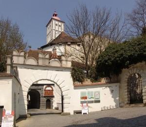 Der Eingang zu Schloss Schallaburg / Foto: Wikipedia / Walter Hochauer