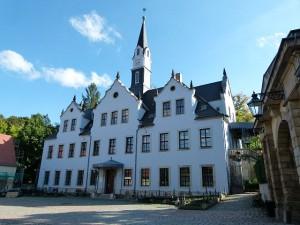 Schloss Burgk im sächsischen Freital: Rund um das Schloss qualmten die Gullys / Foto: Dr. Bernd Gross / CC-BY-SA 3.0