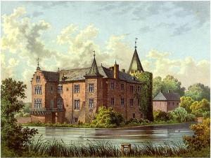 So sah Schloss Krickenbeck um 1860 aus / Foto: Sammlung Duncker