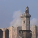 Syrische Rebellen beschießen Zitadelle von Aleppo