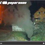 Schloss Burgk in Freital: Brand in Kanalisation