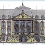 Neues Schloss Diez: Aussichtsturm in Brand