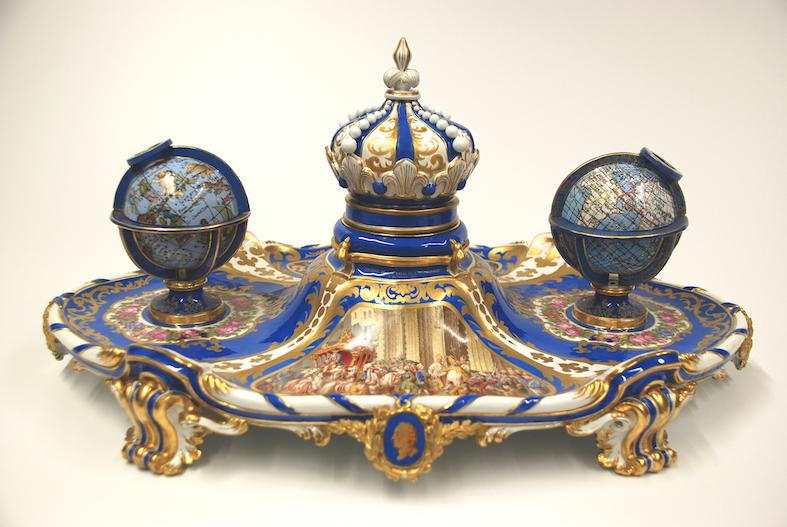 So luxuriös schrieb König Ludwig II. / Foto: © Bayerische Schlösserverwaltung / Barbara Nahstoll
