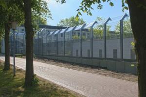 So wie die 2011 modernisierten Zaunabschnitte sollen auch die anderen Zäune rund um Schloss Haldem aussehen / Foto: LWL