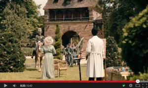 Schloss Vitzenburg dient wieder als Filmkulisse / Bild: Screenshot