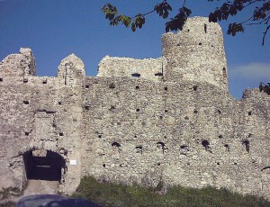 Die Hauptburg mit dem Inneren Tor / gemeinfrei