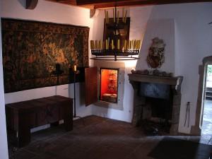 Die wiederaufgebauten Räume sind historisierend eingerichtet. / Foto: Wikipedia / Pascal Reusch / CC-BY-SA 3.0