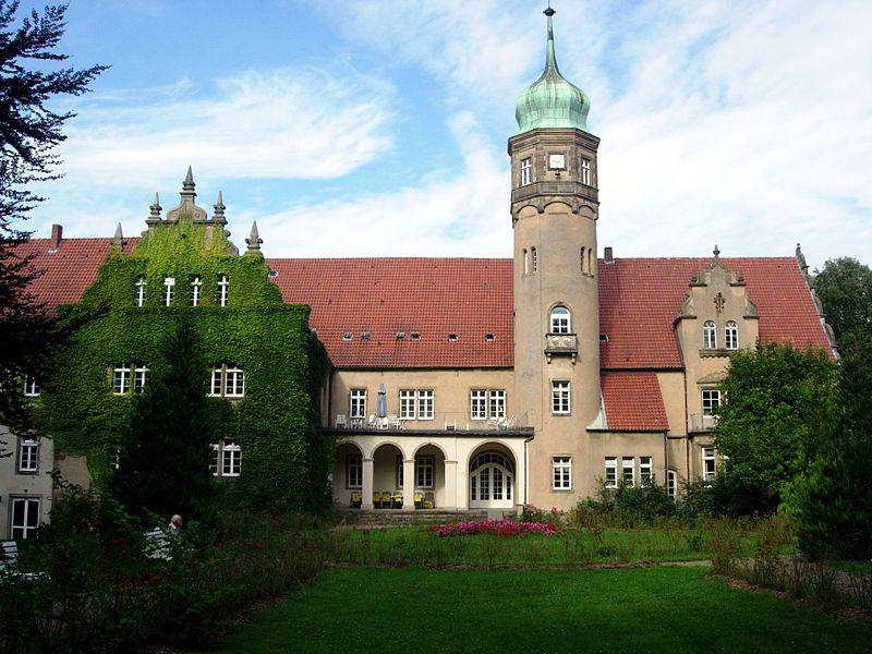 Gartenseite von Schloss Ulenburg / Foto: Wikipedia / Intertorsten / CC-BY-SA 3.0