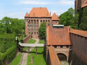 Marienburg: Blick auf das Hochschloss / Foto: SanftE