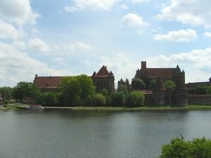 Marienburg und Nogat